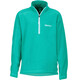 Marmot Rocklin 1/2 Zip Girls Turf Green
